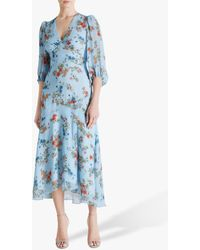 Fenn Wright Manson Amanda Holden Collection Fleur Dress - Blue