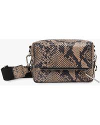 Whistles Bibi Leather Cross Body Bag - Multicolour