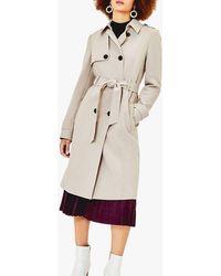 Oasis Tabitha Mac Coat - Multicolour