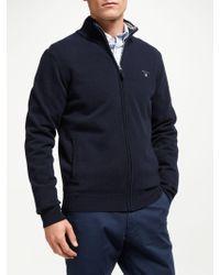 GANT - Superfine Wool Sweatshirt - Lyst