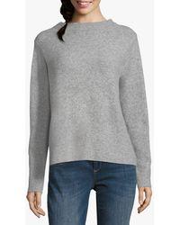 Betty & Co. Fine Knit Top - Grey