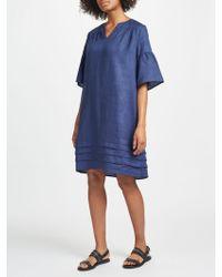 John Lewis - Fluted Sleeve Dress - Lyst