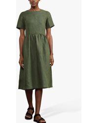 Baukjen Cecile Hemp Midi Dress - Green