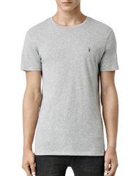 AllSaints - Tonic Crew Neck T-shirt - Lyst