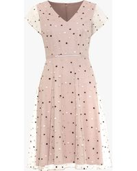 Phase Eight - Leilani Spot Dress - Lyst