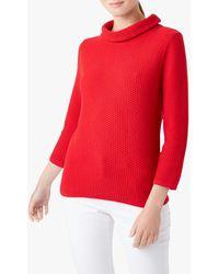 Hobbs Camilla Sweatshirt - Red