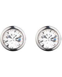 Dyrberg/Kern | Dyrberg/kern Thelma Small Swarovski Crystal Stud Earrings | Lyst