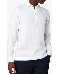 Jaeger Linen Overhead Shirt - White