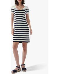 Crew Striped T-shirt Dress - Multicolour