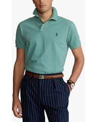 Ralph Lauren Polo Custom Slim Polo Shirt - Multicolour