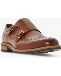 Bertie - Preach Ii Double Strap Monk Shoes - Lyst
