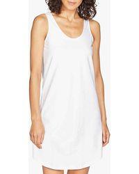 Thought Leah Organic Cotton Slip Dress - White