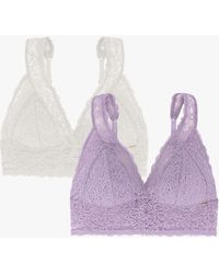 DORINA Lana Lightly Padded Wired Bralette - Purple