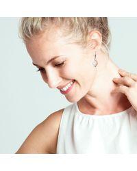 Kit Heath - Grace Rose Gold Plated Sterling Silver Earrings - Lyst