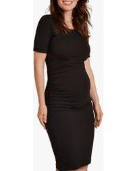 Isabella Oliver - Ruched T-shirt Dress - Lyst