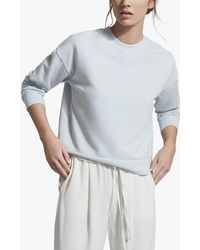 Reiss Brooke Lounge Sweatshirt - Blue