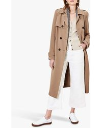 Oasis Trench Coat - Natural