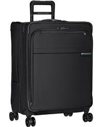 Briggs & Riley Baseline Medium Expandable 4-wheel Spinner Suitcase - Black