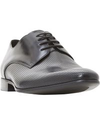 Dune - Phelan Punched Derby Shoes - Lyst