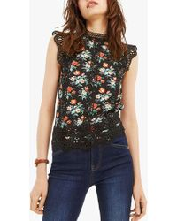 Oasis - Willow Floral T-shirt - Lyst