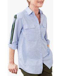 Baukjen Maya Organic Cotton Shirt - Blue