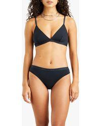 Levi's New Mid Rise Bikini Knickers - Black