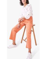 White Stuff Whiststable Wide Leg Jeans - Orange