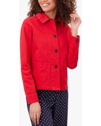 Joules Devon Jacket - Red