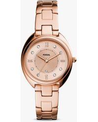 Fossil Gabby Date Bracelet Strap Watch - Multicolour