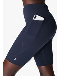 "Sweaty Betty Power 9"" Gym Shorts - Blue"
