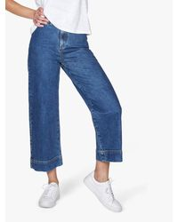 Thought - Denim Culottes - Lyst