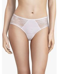 Passionata Aura Lace Shorty Briefs - White