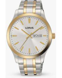 Lorus Bracelet Strap Watch - Metallic
