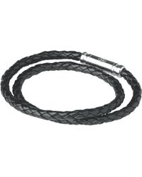 Links of London - Men's Venture Double Leather Bracelet - Lyst