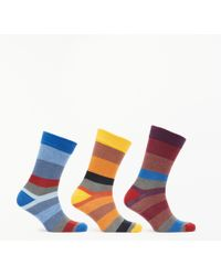 John Lewis - Twisted Stripe Socks - Lyst