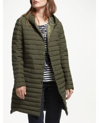 Gerry Weber - Hooded Quilted Coat - Lyst