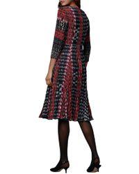 John Lewis - East Inez Print Pleat Dress - Lyst