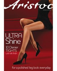 Aristoc - 10 Denier Ultra Shine Tights - Lyst
