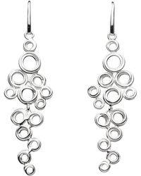 Kit Heath | Coil Cluster Drop Earrings | Lyst