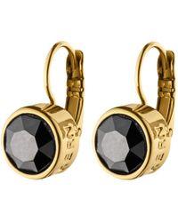 Dyrberg/Kern - Louise Swarovski Crystal French Hook Drop Earrings - Lyst