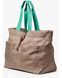 Ally Capellino Tim Hemp Tote Bag - Multicolour