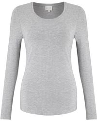 East - Long Sleeve Jersey Top - Lyst