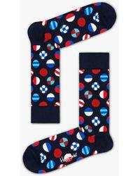 CALVIN KLEIN 205W39NYC Cotton Stripe Ankle Socks for Men Lyst