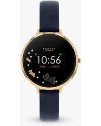 Radley Leather Strap Series 3 Smartwatch - Black