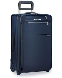 Briggs & Riley Baseline Carry-on Expandable 2-wheel Cabin Suitcase - Blue