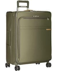 Briggs & Riley Baseline Expandable 4-wheel Spinner Large Suitcase - Multicolour