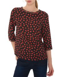 Gerard Darel - Louise Floral Blouse - Lyst