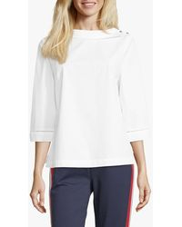 Betty & Co. Cotton Blouse - White