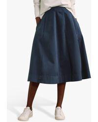 Baukjen Teigan A-line Skirt - Blue