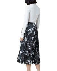 John Lewis - Finery Hobman Pleated Floral Print Skirt - Lyst